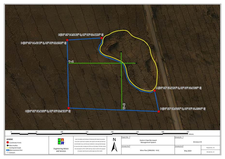 Environmental Management Plan For Proposed Borrow Pits Lukhanji